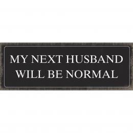 Xavax Next Husband, dekoraèní tabulka na stìnu, 39x14 cm