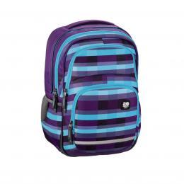 Školní batoh All Out Blaby, Summer Check Purple