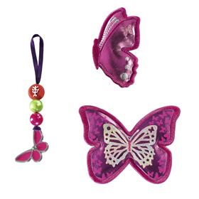 Doplòková sada obrázkù MAGIC MAGS Tøpytivý motýl k aktovkám SPACE, CLOUD a KID