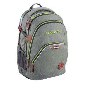 Školní batoh coocazoo EvverClevver2, Denim Grey, certifikát AGR