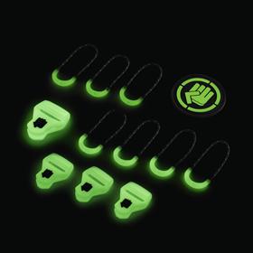 coocazoo MatchPatch Special doplòková sada, Glow Black