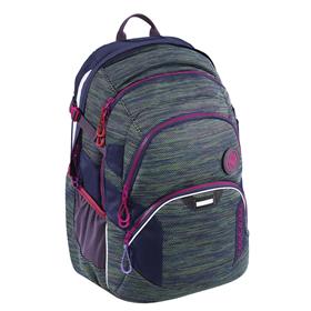 Školní batoh Coocazoo JobJobber2, Wildberry Knit