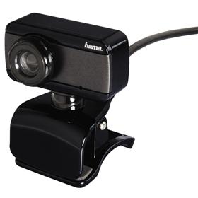 Hama webkamera Speak2, èerná/šedá