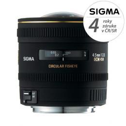 SIGMA 4.5/2.8 EX DC CIRCULAR Fisheye HSM Sony A-mount