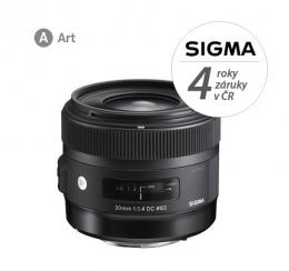 SIGMA 30/1.4 DC HSM ART CANON EF mount