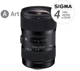 SIGMA 18-35/1.8 DC HSM ART Canon  EF mount