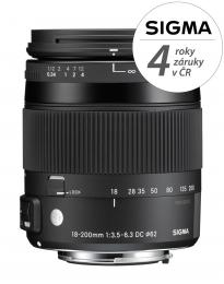 SIGMA 18-200mm F3.5-6.3 DC MACRO OS HSM Contemporary pro Canon EF