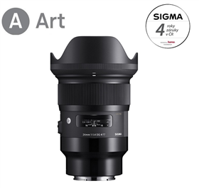 SIGMA 24mm F1.4 DG HSM Art pro Sony E