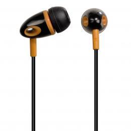Hama sluchátka ME-299, silikonové špunty, èerná/oranžová