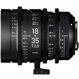 SIGMA CINE 18-35MM T2 F/CE (METRIC), objektiv CINE pro Canon EF