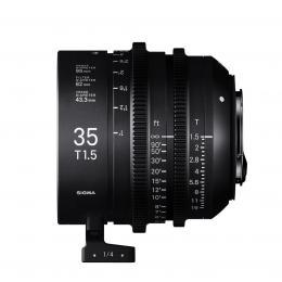 SIGMA CINE 35MM T1.5 FF F/CE (METRIC), objektiv CINE pro Canon EF
