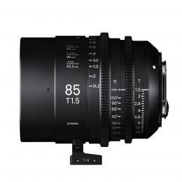 SIGMA CINE 85MM T1.5 FF F/CE (METRIC), objektiv CINE pro Canon EF