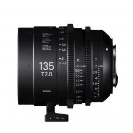 SIGMA CINE 135MM T2 FF F/CE (METRIC), objektiv CINE pro Canon EF