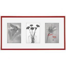 Hama 1146 rámeèek plastový Galerie MADRID, èervená, 23x45cm/3