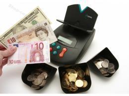 Váhová poèítaèka bankovek a mincí CountEasy