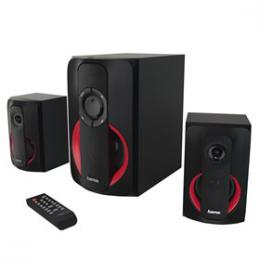Hama 2.1 Sound systém PR-2180 èerná/èervená