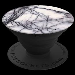 PopSockets Original PopGrip, White Marble