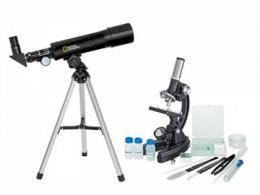 Sada Bresser National Geographic  Teleskop 50/360AZ a mikroskop 300x–1200x
