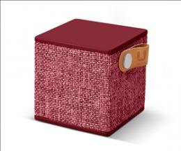 FRESH  N REBEL Rockbox Cube Fabriq Edition Bluetooth reproduktor, Ruby, rubínovì èervený