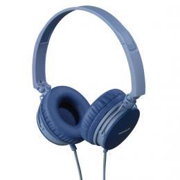 Thomson on-ear sluchátka s mikrofonem HED2207, modrá