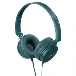 Thomson on-ear sluchátka s mikrofonem HED2207, zelená