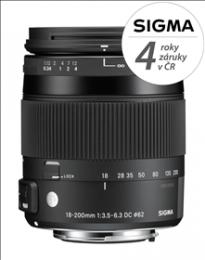 SIGMA 18-200mm F3.5-6.3 DC MACRO HSM Contemporary pro Sony A