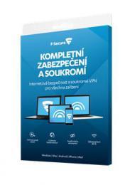 F-Secure TOTAL DR, 5 zaøízení / 2 roky; Data Recovery 1 zaøízení 2 roky, el. lic.