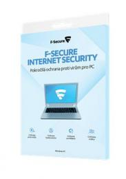 F-Secure INTERNET SECURITY, 3 zaøízení / 2 roky, krabièka