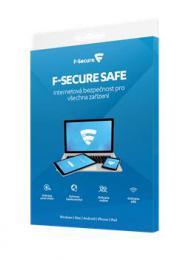 F-Secure SAFE DR, 5 zaøízení / 2 roky / Data Recovery 1 zaøízení/ 2 roky, krabièka