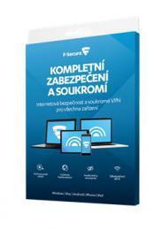 F-Secure TOTAL DR - FAMILY, 5 zaøízení / 1 rok; Data Recovery 1 zaøízení 1 rok, el. lic.