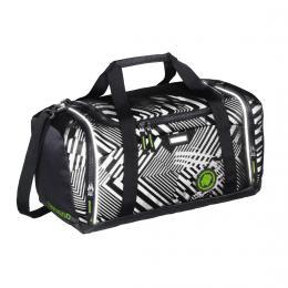 Sportovní taška SporterPorter, Black Track reflexní
