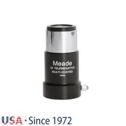 Meade Series 4000 126 2x Short- Focus Barlow 1.25