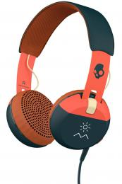 Skullcandy Grind Orange/Navy Mic1