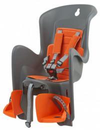 Polisport Bilby dìtská sedaèka na nosiè, šedo-oranžová