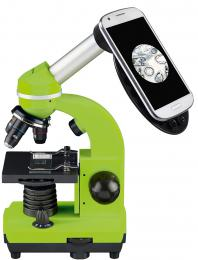 MikroskopBresser Junior Biolux SEL 40–1600x, zelený - zvìtšit obrázek