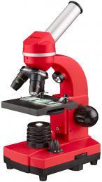 MikroskopBresser Junior Biolux SEL 40–1600x, èervený - zvìtšit obrázek
