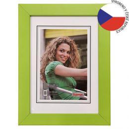 Hama rámeèek døevìný JESOLO, zelená, 29,7x42 cm