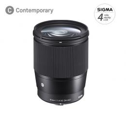 SIGMA 16mm F1.4 DC DN Contemporary pro Canon M