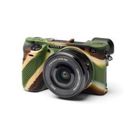 Easy Cover Pouzdro Reflex Silic Sony Alpha a6600 Camouflage