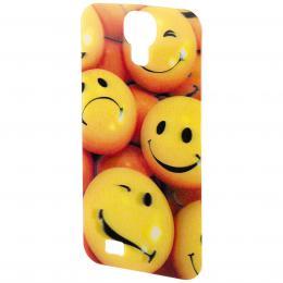 PHONEFASHION Smiley 3D obrázek pro kryt Clear pro Samsung Galaxy S4