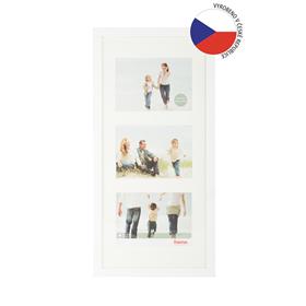 Hama rámeèek døevìný Galerie JESOLO, bílá, 25x55 cm/3