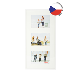 Hama rámeèek plastový Galerie MADRID, bílá, 23x45 cm/3