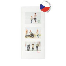 Hama rámeèek plastový Galerie MADRID, bílá, 25x55 cm/3