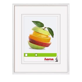Hama rámeèek plastový SEVILLA, bílá, 29,7x42 cm, prùhledný plast