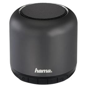 Hama Steel Drum Mobile Bluetooth Loudspeaker, anthracite