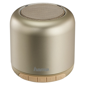 Hama Steel Drum Mobile Bluetooth Loudspeaker, gold