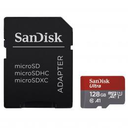 SanDisk Ultra microSDXC 128 GB 100 MB/s A1 Class 10 UHS-I, Android, Adapt�r N�HRADA ZA 139729