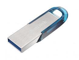 SanDisk Ultra Flair™ USB 3.0 128 GB tropická modrá