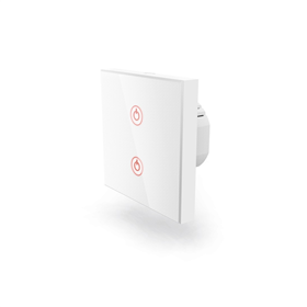 Hama SMART WiFi dotykov� n�st�nn� vyp�na�, dvojit�, vestavn�, b�l�