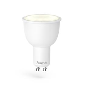 Hama SMART WiFi LED žárovka, GU10, 4,5 W, bílá, stmívatelná